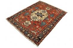 Perski koczowniczy kurdyjski wiejski dywan Gutschan 134x180cm welna ręcznie tkany Iran