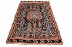 Perski koczowniczy kurdyjski wiejski dywan Gutschan 113x180cm welna ręcznie tkany Iran