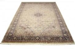 Beżowy piękny dywan Tabriz z Indii ok 200x300cm 100% wełna oryginalny ręcznie tkany perski wart 28000zł