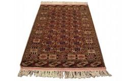 Kobierzec z Afganistanu 100% jedwab etniczny orientalny dywan ręcznie wykonany 115X161cm XX wiek cenny