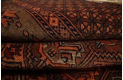 Luksusowy kobierzec z Afganistanu 100% jedwab etniczny orientalny dywan ręcznie wykonany 122x177cm XX wiek cenny Tekke Jomud