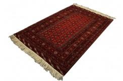 Afgan Mauri oryginalny 100% wełniany dywan z Afganistanu 134x193cm ręcznie gęsto tkany Buchara