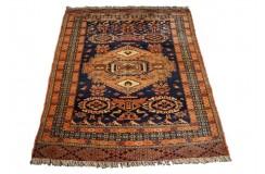 Afgan Mauri oryginalny 100% wełniany dywan z Afganistanu 129x107cm ręcznie gęsto tkany Kabul