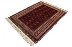 Afgan Mauri oryginalny 100% wełnian dywan z Afganistanu 133x177cm ręcznie gęsto tkany Buchara