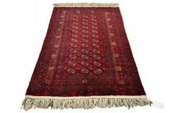 Afgan Mauri oryginalny 100% wełniany dywan z Afganistanu 113x169cm ręcznie gęsto tkany Buchara