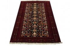 Afgan Mauri oryginalny 100% wełniany dywan z Afganistanu 107x160cm ręcznie gęsto tkany Buchara