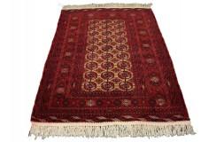 Afgan Mauri oryginalny 100% wełniany dywan z Afganistanu 128x175cm ręcznie gęsto tkany Buchara