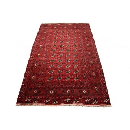Afgan Mauri oryginalny 100% wełniany dywan z Afganistanu 122x210cm ręcznie gęsto tkany Buchara