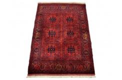 Kobierzec z Afganistanu Khan Mohammadi fein 100% wełniany monochromatyczny orientalny dywan ręcznie wykonany 100x150cm