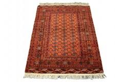 Afgan Mauri oryginalny 100% wełniany dywan z Afganistanu 126x174cm ręcznie gęsto tkany Buchara