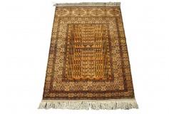 Afgan Mauri oryginalny 100% jedwabny dywan z Afganistanu 119x169cm ręcznie gęsto tkany traydycyjny