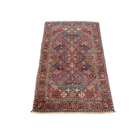 Antyk 100 letni unikatowy dywan Kashan (Keszan) z Iranu wełna 120x206cm perski