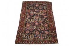 Oryginalny antyczny 80 letni dywan ręcznie tkany Baktjar z Iranu - perski ok 130x196cm 100% wełna