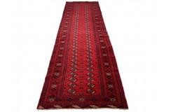 Afgan Mauri oryginalny 100% wełniany dywan z Afganistanu 122x210cm ręcznie 100x350cm gęsto tkany Buchara