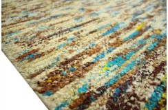 Ekskuzywny miękki płasko tkany kolorowy dywan z deseniem niepowtarzalny 200x300cm eko