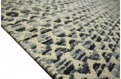m dwustronny 160x230 niebiesko beżowy ręcznie tkany z Indii