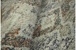 Wełna wiskoza gruby nowoczesny cienioway dywan dobrego gatunku z Indii 160x230cm