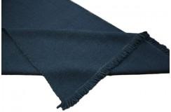 Wełniany niebieski dywan kilim dwustronny 160x230 wełna filcowana z Indii ręcznie tkany