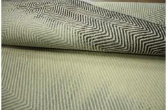 Płasko tkany gęsty kilim 160x230cm dwustronny cieniowany Vintage beż brąz 100% wełna