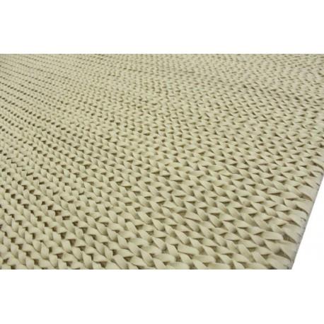 100% wełniany niezwykly dywan Brinker Carpets FULLMOON 850 wart 3 600 zł 160x230cm biały filcowany