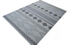 100% wełna beżowy dywan do salonu nowoczesny z Indii gruby, ciężki 160x230cm wełna owcza dwupoziomowy