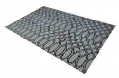 100% wełna nowoczesny dywan abstrakcyjny 155x235cm indyjski beżowo brązowy