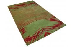 100% wełna nowoczesny dywan abstrakcyjny kolorowy gruby 160x250cm do pokoju młodzieżowego