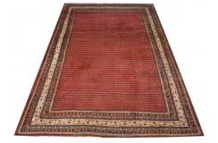Tradycyjny piękny dywan Saruk z Iranu 220x308cm 100% wełna oryginalny ręcznie tkany perski