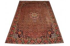 100% wełniany luksusowy dywan Bidjar (Bidżar) z Iranu 100% wełna najwyższej jakosci motywy kwiatowe heratu 210x315cm