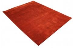 Czerwony elegancki dywan Gabbeh Loribaft Loom Indie 150x200cm gruby gęsty i miękki
