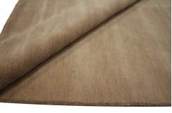 Gładki 100% wełniany dywan Gabbeh Handloom jasny różowy 200x300cm bez wzorów