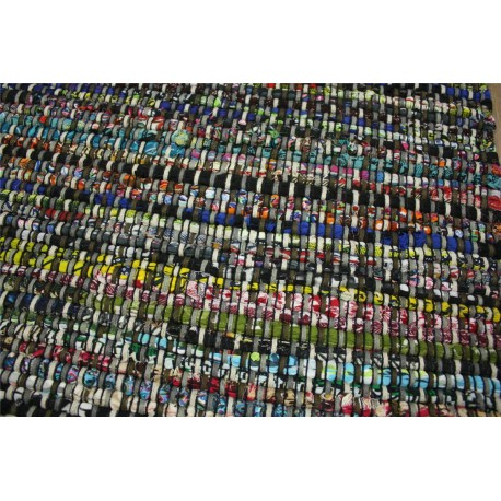 Kolorowy dywan kilim dwustronny Brink & Campman Playa 79405 100% bawelna 140x200cm Indie wart 900zł