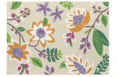 Nowoczsny dywan Sanderson Myrtle 23502 Bright 200x280cm 100% wełna wart 6100zł - promocja