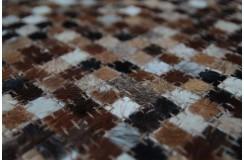 Naturalna skóra bydlęca patchwork dywan PIXEL patchwork 140x200cm różne wzory