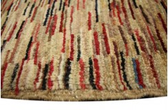 Ręczny tkany dywan Ziegler Gabbeh nowoczesny piękne kolory 125x169cm