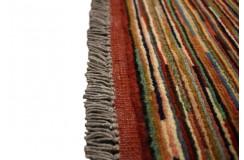 Ręczny tkany dywan Ziegler Gabbeh nowoczesny piękne kolory 106x146cm