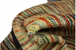 Ręczny tkany dywan Ziegler Gabbeh nowoczesny piękne kolory 95x146cm