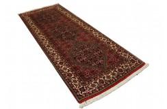 Piękny chodnik dywan Bidjar Fein z Iranu ok 80x200cm 100% wełna oryginalny ręcznie tkany perski herati