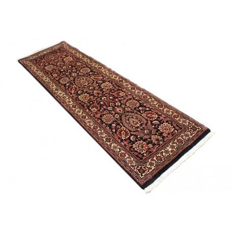 Piękny chodnik dywan Bidjar Fein z Iranu ok 70x240cm 100% wełna oryginalny ręcznie tkany perski herati