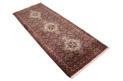 Piękny chodnik dywan Bidjar Fein z Iranu ok 77x200cm 100% wełna oryginalny ręcznie tkany perski herati