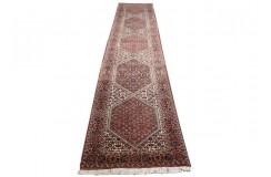 Luksusowy chodnik dywan Bidjar Fein z Iranu ok 70x400cm 100% wełna oryginalny ręcznie tkany perski herati