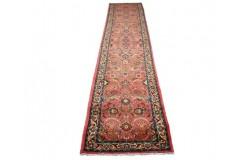 Klasyczny chodnik Lilian z kwiatowym perskim wzorem CERTYFIKAT 80x400cm Iran