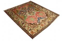 Oryginalny antyk 60 letni dywan ręcznie tkany Baktjar z Iranu perski 175x200cm 100%wełna