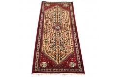 Tradycyjny wełniany recznie tkany dywan Abadeh perski orietalny 70x200cm chodnik
