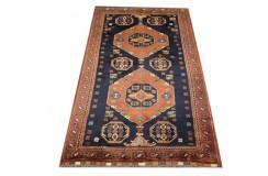 Oryginalny 100% wełniany dywan Afgan Kargahi Modern 120x180cm ręcznie gęsto tkany