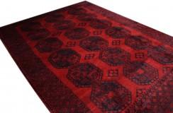 Kobierzec z Afganistanu Khan Mohammadi fein 100% wełniany monochromatyczny orientalny dywan ręcznie wykonany 235x315cm