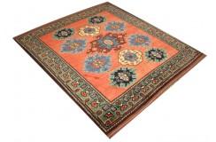 Oryginalny 100% wełniany dywan Afgan Kargahi Modern 149x166cm ręcznie gęsto tkany