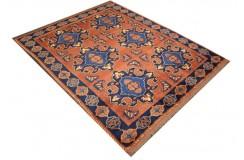 Oryginalny 100% wełniany dywan Afgan Kargahi Modern 150x190cm ręcznie gęsto tkany
