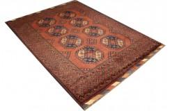 Oryginalny 100% wełniany dywan Afgan Kargahi Modern 170x230cm ręcznie gęsto tkany