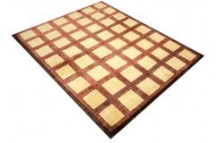 Ręczny tkany dywan Ziegler Gabbeh Pakistan 140x200 cm nowoczesny piękne kolory 99x143cm